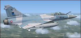 fsx mirage 2000c how to open hatch