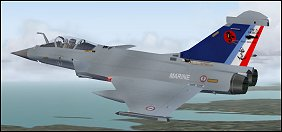 Mirage Aircraft for Flight Simulator